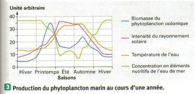 Production de phytoplancton