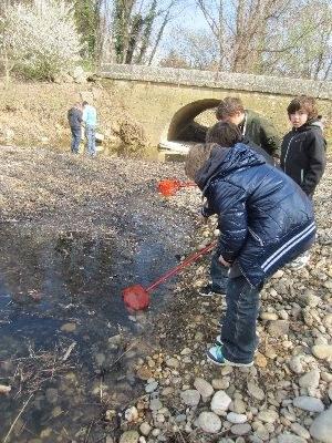 les garçons et la pêche