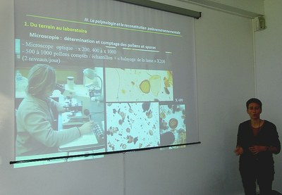 Presentation of laboratory POLEN by it headmistress Mrs. Brun, researcher- teacher