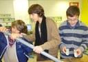 Fabrication de la tarière par les élèves de l'Atelier Scientifique