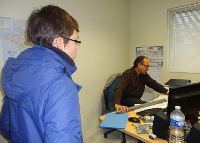 Partenariat avec la CPN pour la fabrication d'un carottier