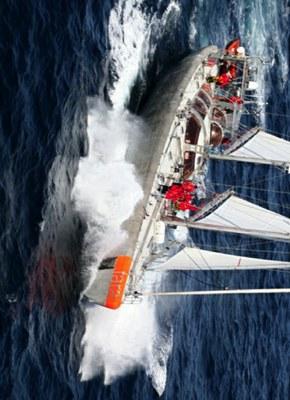 tara n'est pas un bateau de compétition