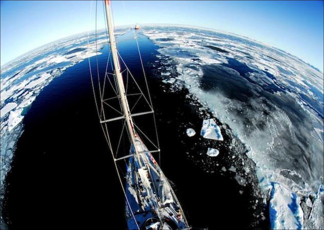 La navigation à bord de Tara