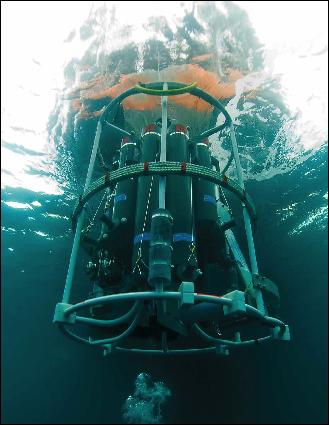 Le prélèvement du plancton