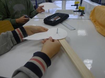 Réalisation du prototype imaginé par le groupe humidité