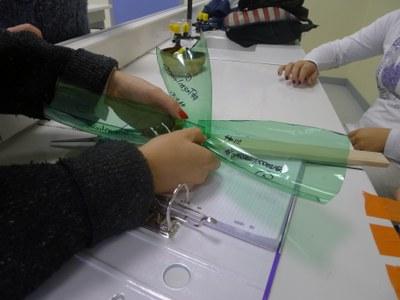 réalisation du prototype imaginé par le groupe pression