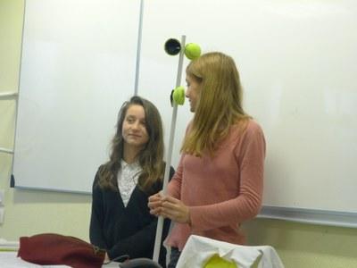 présentation d'un prototype 5 au reste du groupe
