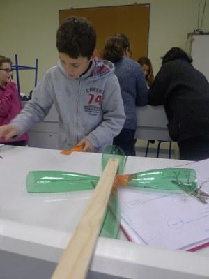 réalisation du prototype imaginé par le groupe température