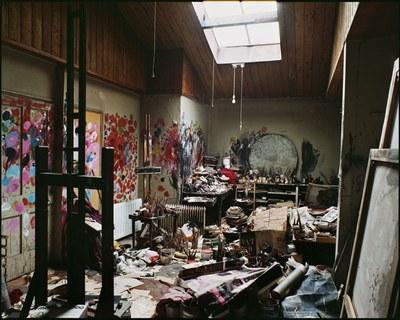 L'atelier de Londres reconstitué à Dublin. Perry Ogden Studio.