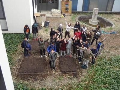 Jardiniers du collège