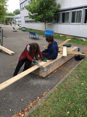 Construction des carrés