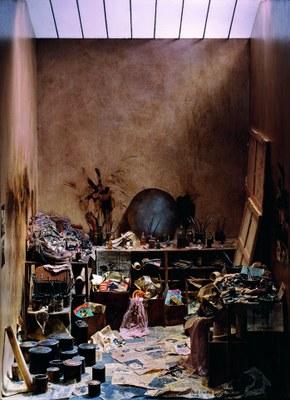 L'atelier de Francis Bacon. Crédit photo   Charles Matton