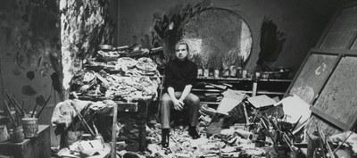 L'atelier de Londres de Francis Bacon