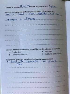 Carnet du journaliste du 11/04/17