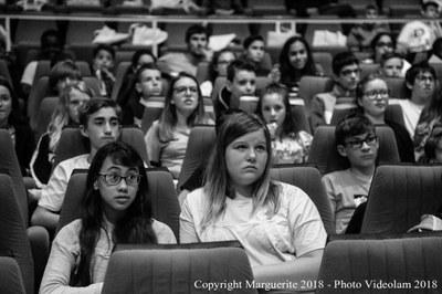 Des élèves attentifs...