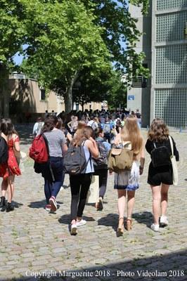 360 collégiens et lycéens en transit à l'ENS de Lyon