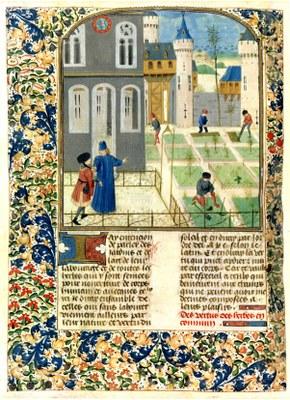 Profits champetres Pier de Crescenzi Maître de Marguerite dYork 1470 New York