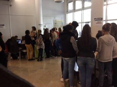 Fête de la Science 2015 - Accueil de classe, stand HORTUS