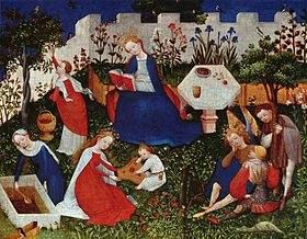 L e jardin médiéval (littérature et société)