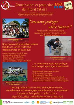 6 Le Canet PosterGE Tara 2012
