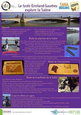 9 Chalon sur Saone PosterGE tara 2012