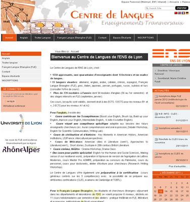 centreDeLangues